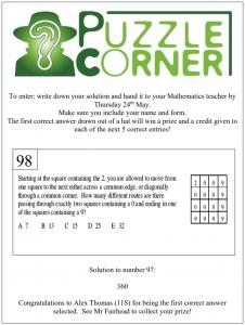 Puzzle Corner 98
